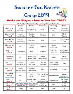Summer Camp Kids Fullerton